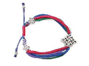 five-colord auspicious bracelet
